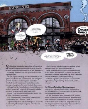 Spirou & Fantasio: Robinson auf Schienen