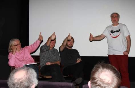 Rolf Boyke (alias boy), Rainer Schneider (Comicaze) und Igor Barkan (Zombiac