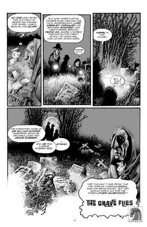 Richard Corben: Schatten auf dem Grab