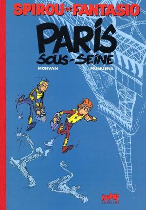 Spirou & Fantasio 45: Flut über Paris