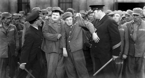 Laurel & Hardy: Pardon us