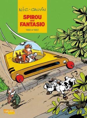 Spirou & Fantasio Gesamtausgabe, Band 12: Nic & Cauvin