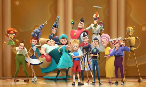 Walt Disney: Triff die Robinsons