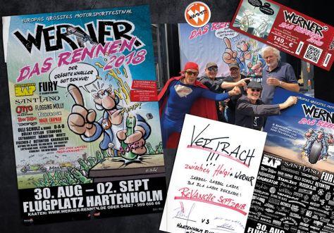 Werner - Das Rennen