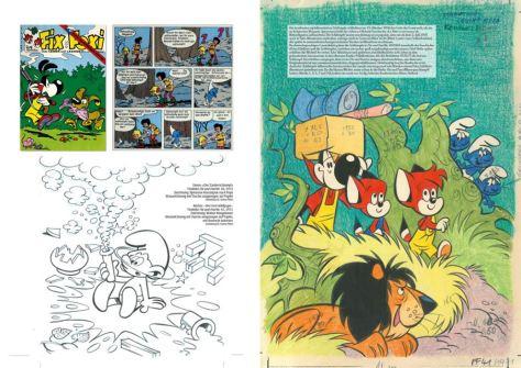 Fix & Foxi – Die Entdeckung von Spirou, Lucky Luke und den Schlümpfen