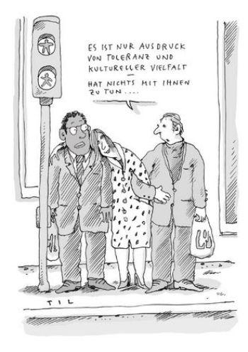 Til Mette: Politisch korrekte Cartoons für links-grün versiffte Gutmenschen