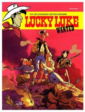 Wanted: Eine Lucky-Luke-Hommage von Matthieu Bonhomme