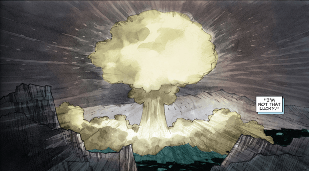 Unlike mushrooms, mushroom clouds are never a good sign.