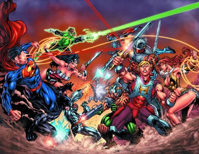 DC Vs. Masters of the universe 1