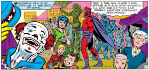 magneto feels at home at the carnival (issue 7)