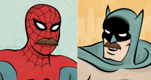 Top 5 Mustaches in Comics