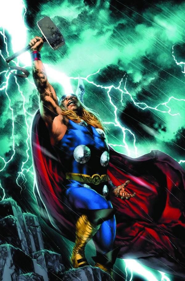 Thor Marvel Comics Art
