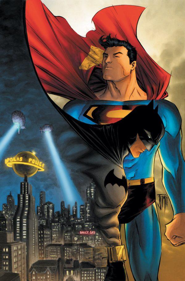 Batman and Superman Comic