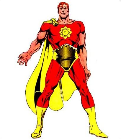 Marvel Comics Hyperion Superman knock-off