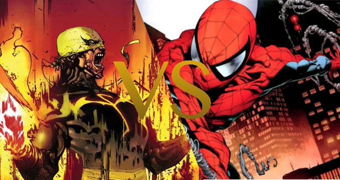 Iron Fist vs Spider-Man
