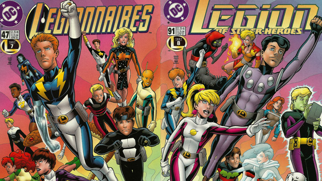 Image result for legion of superheroes reboot