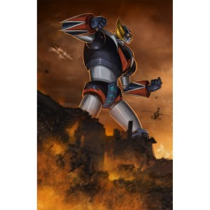 Grendizer Left Side