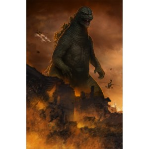 Godzilla Classic Left Side