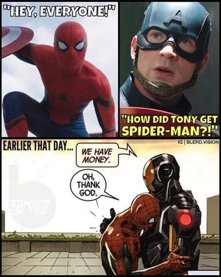 25 Funny Spider-Man Vs Iron Man Memes Only For Genuine MCU Fans - Comic Books & Beyond