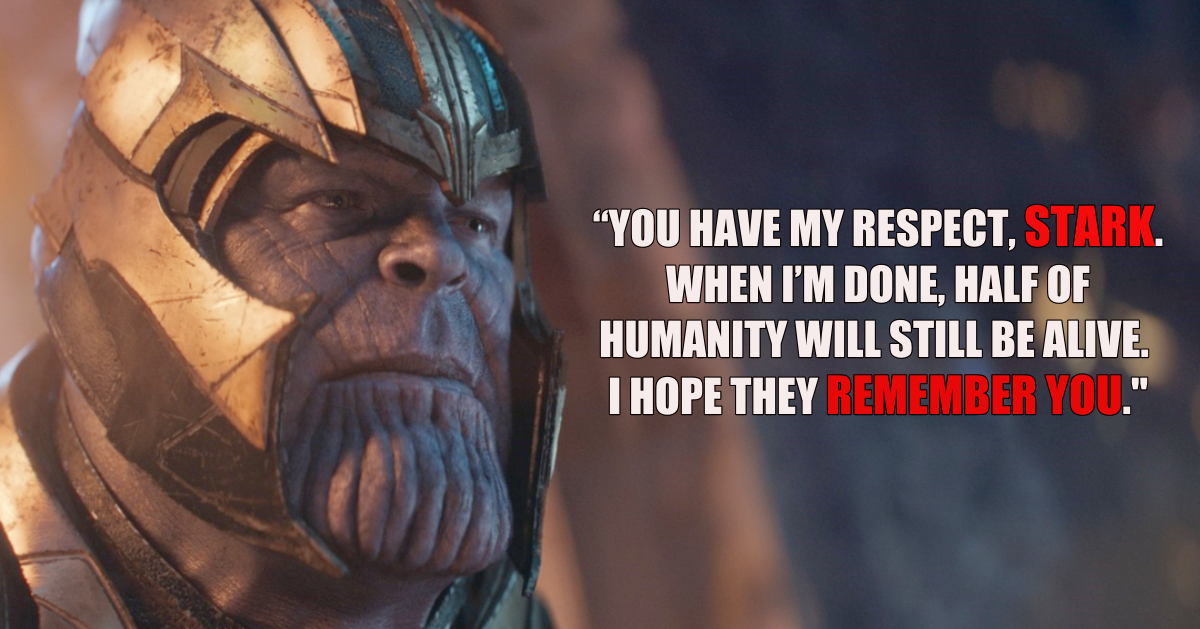 26 Greatest Thanos Quotes From The Marvel Cinematic Universe And Comic Books