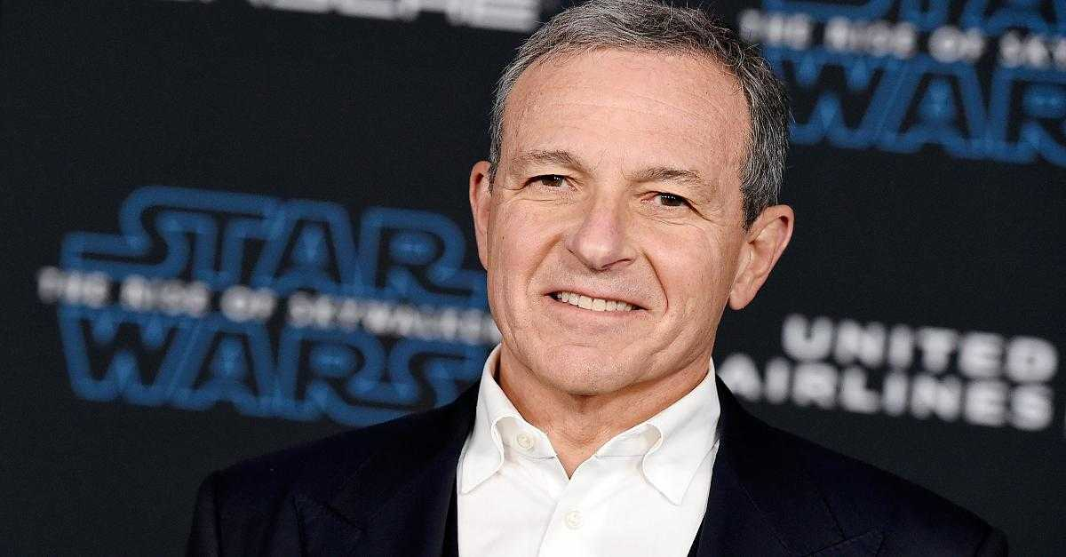 Disney's Bob Iger To Step Down As CEO