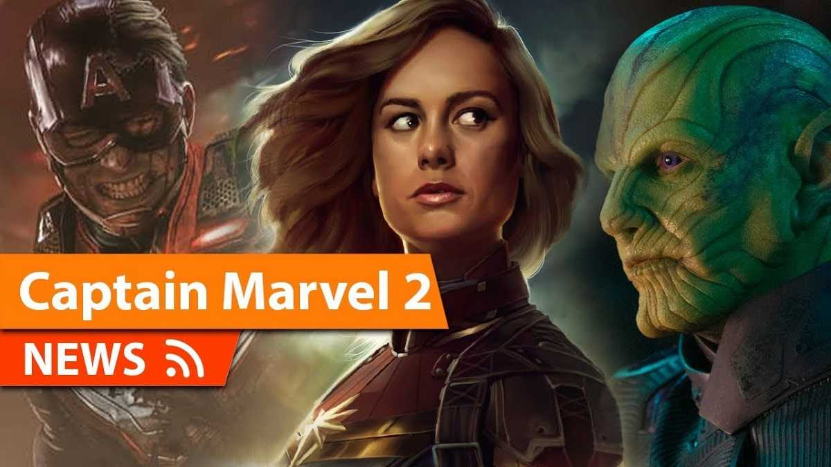 Captain Marvel Goes Further Into Development In Marvel