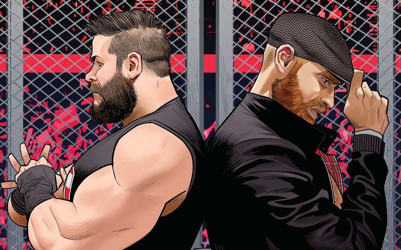 Kevin Owens And Sami Zayn Fight Forever Starting In Wwe 18