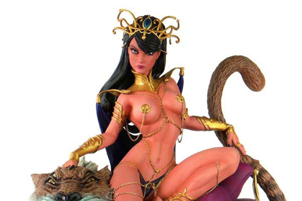 Women of Dynamite Dejah Thoris J. Scott Campbell Inspired Diorama Statue