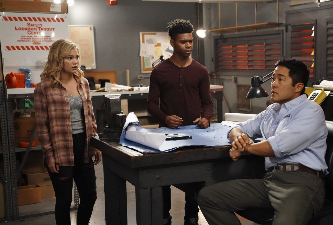 "MARVEL'S CLOAK & DAGGER - ""Lotus Eaters"" - A mysterious man may be the key for Tandy to finally clear her fatherÕs name. Unfortunately getting the answers she needs will be difficult as the man has been in a catatonic state for almost a decade. But it might not be so impossible for two people with extraordinary powers. With Tyrone alongside to help, the two test their combined powers for the first time. This episode of ""MarvelÕs Cloak & Dagger"" airs Thursday, July 12 (8:00 - 9:00 p.m. EDT) on Freeform. (Freeform/Alfonso Bresciani) OLIVIA HOLT, AUBREY JOSEPH, TIM KANG"