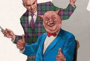 Lex Luthor/Porky Pig
