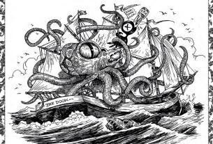 Tony Millionaire's Sea Monsters Coloring Book SC