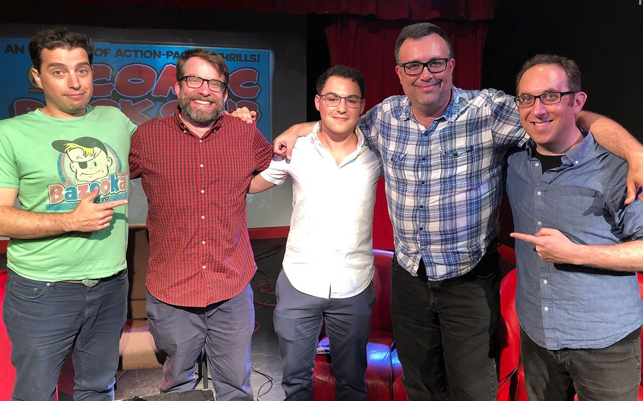 comic book club fred van lente and david menchel