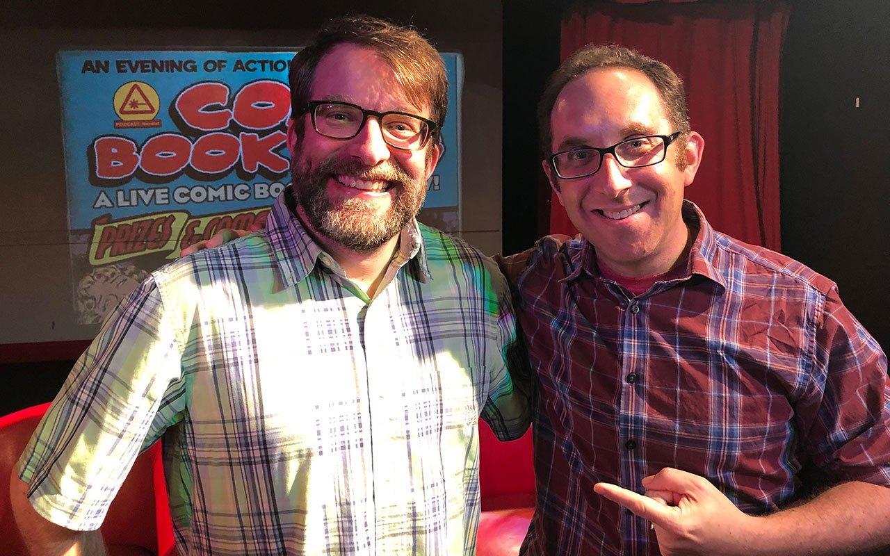Comic Book Club Pete and Alex