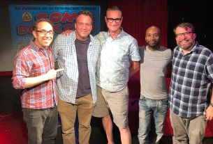comic book club - sean lewis, karl bollers, and robert meyer