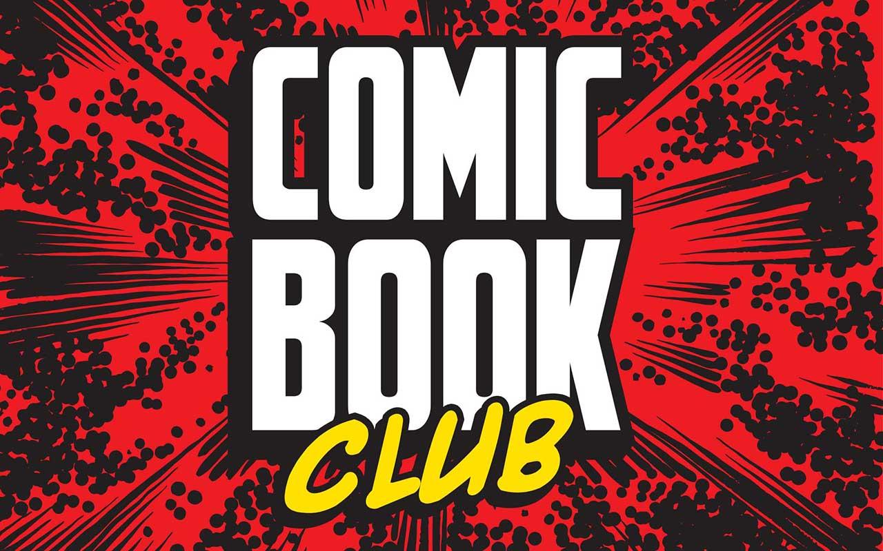 Comic Book Club Logo - 1280x800