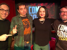 comic book club - darcie little badger