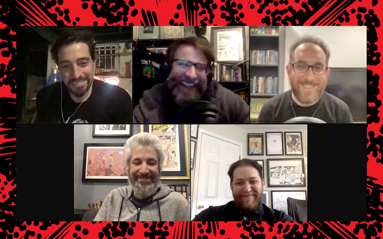 Comic Book Club - Matt Kindt and Warren Simons