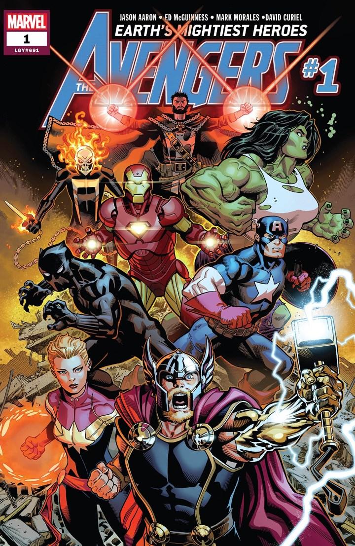Avengers Jason Aaron 1