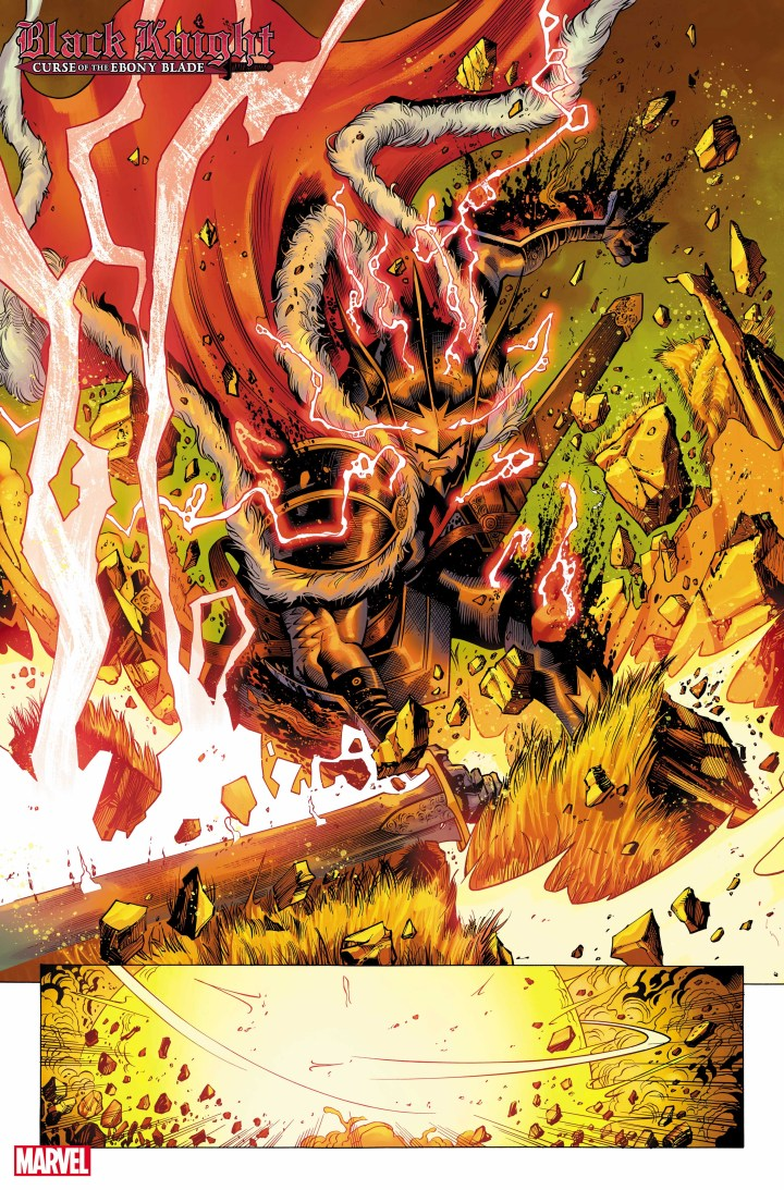Black Knight: Curse of the Ebony Blade #1 Sneak peek page 3