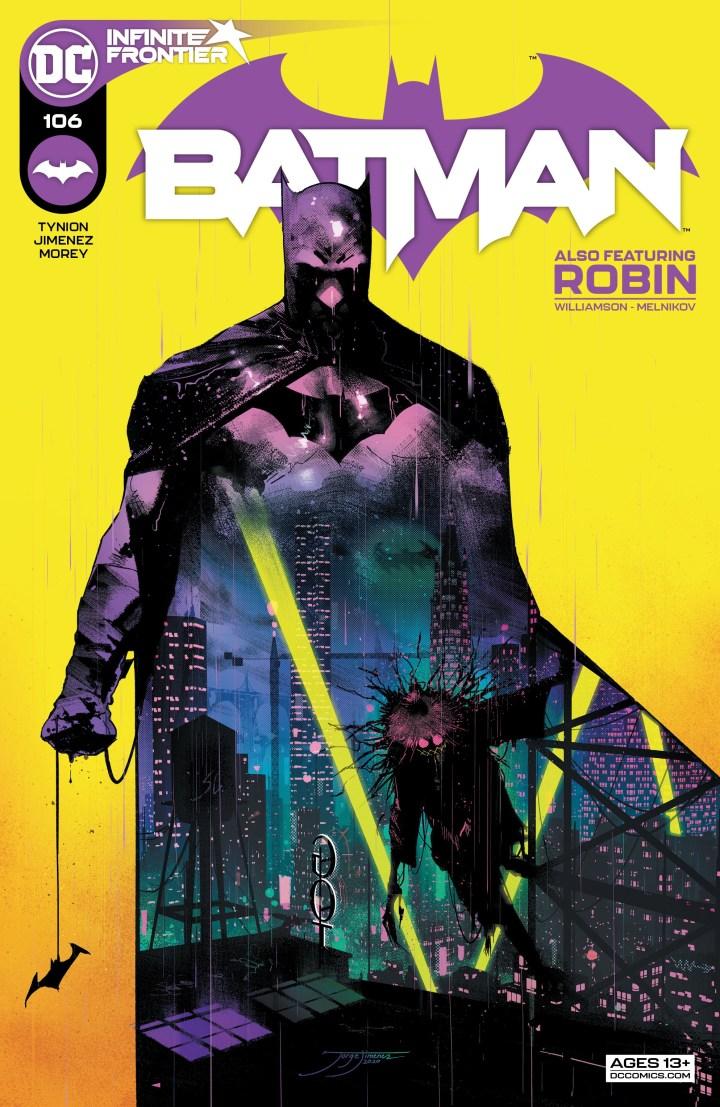 Batman #106 Cover 1