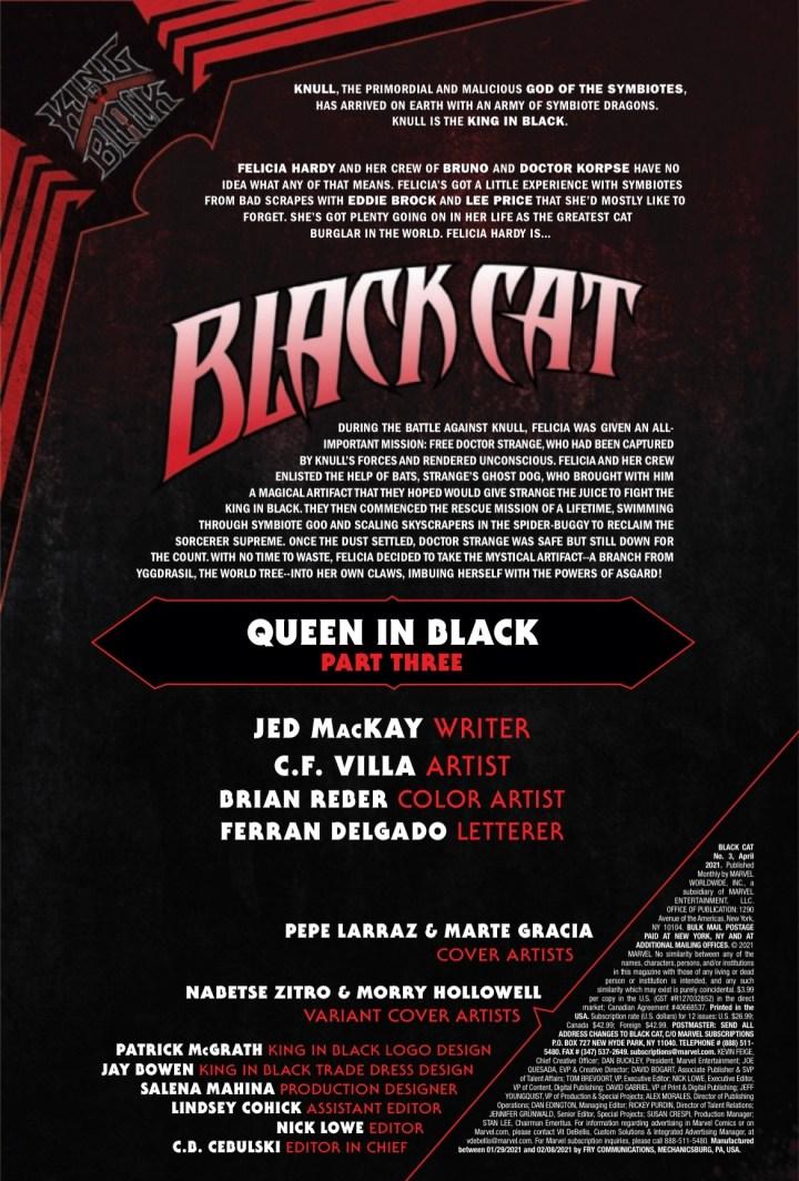 Black Cat #3 Page 1