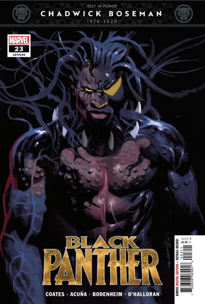 Black Panther cover 1