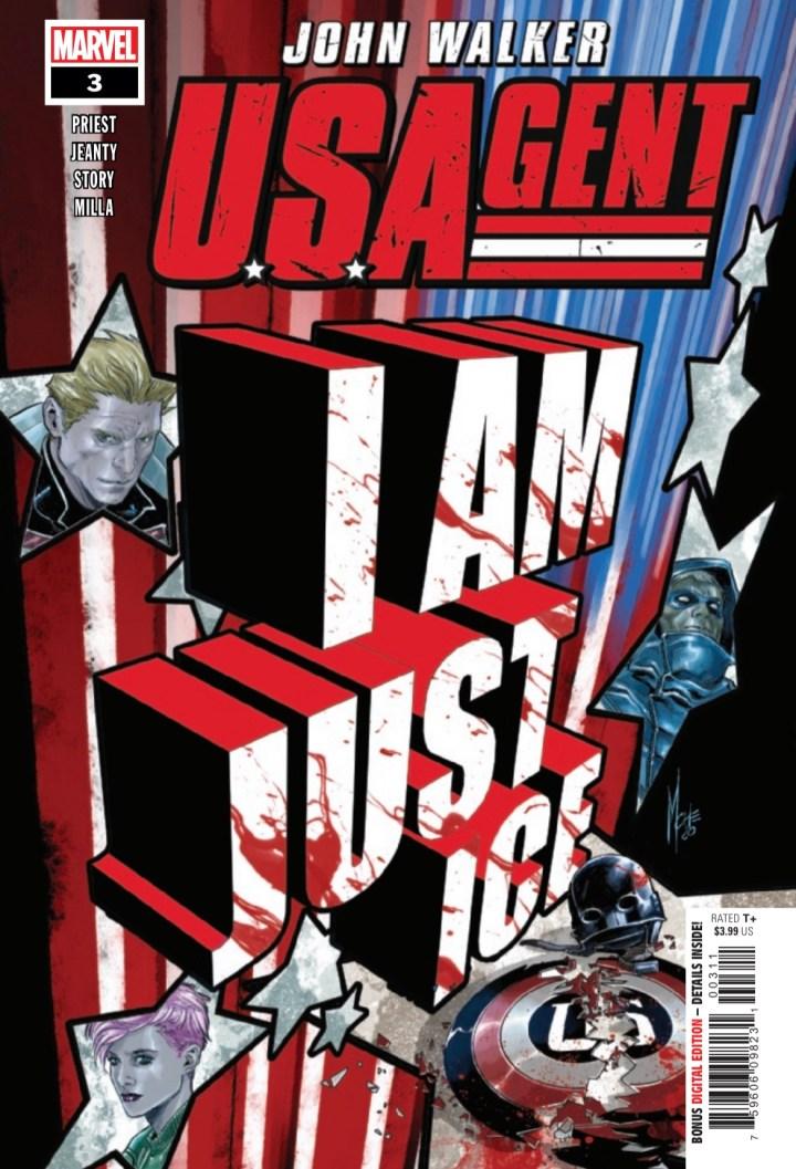 U.S. Agent #4 Cover 1
