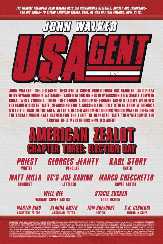 U.S. Agent #4 page 1