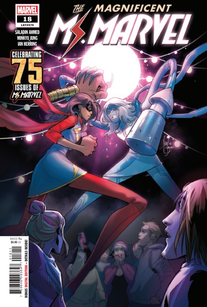 Magnificent Ms. Marvel #18 Cover 1