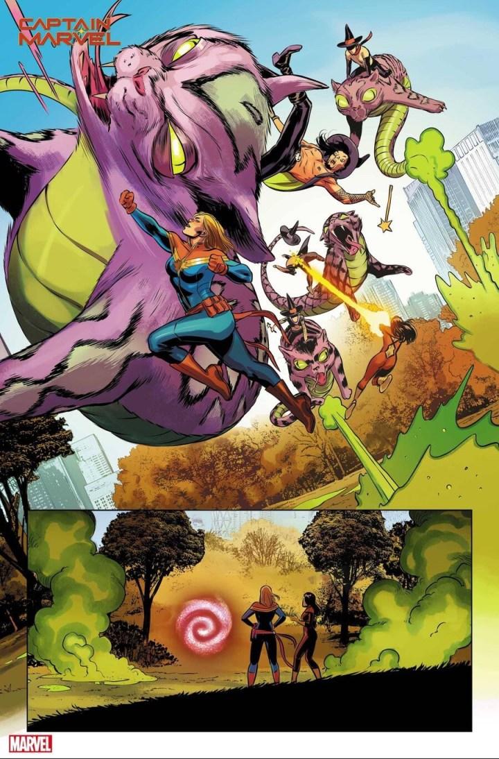 Captain Marvel #27 sneak peek 1