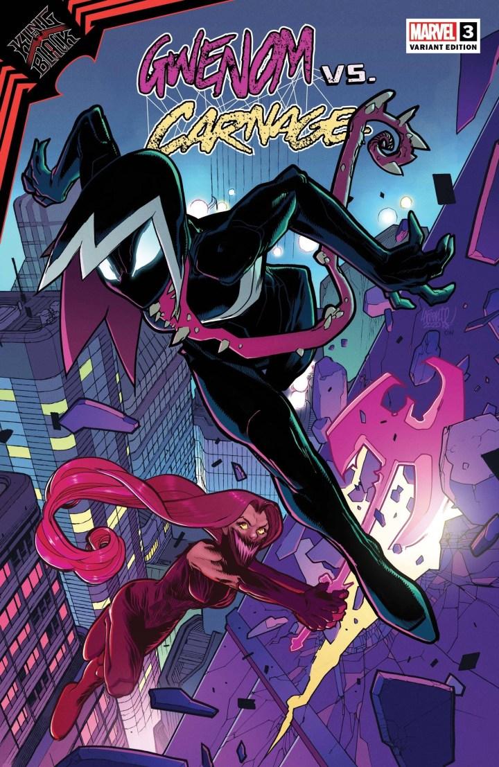 King in Black: Gwenom vs Carnage #3 Cover 2