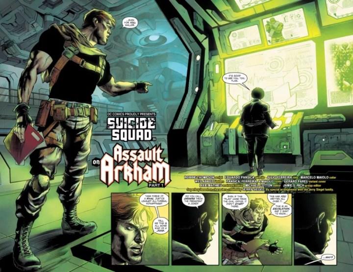 Suicide Squad #1 Page 2