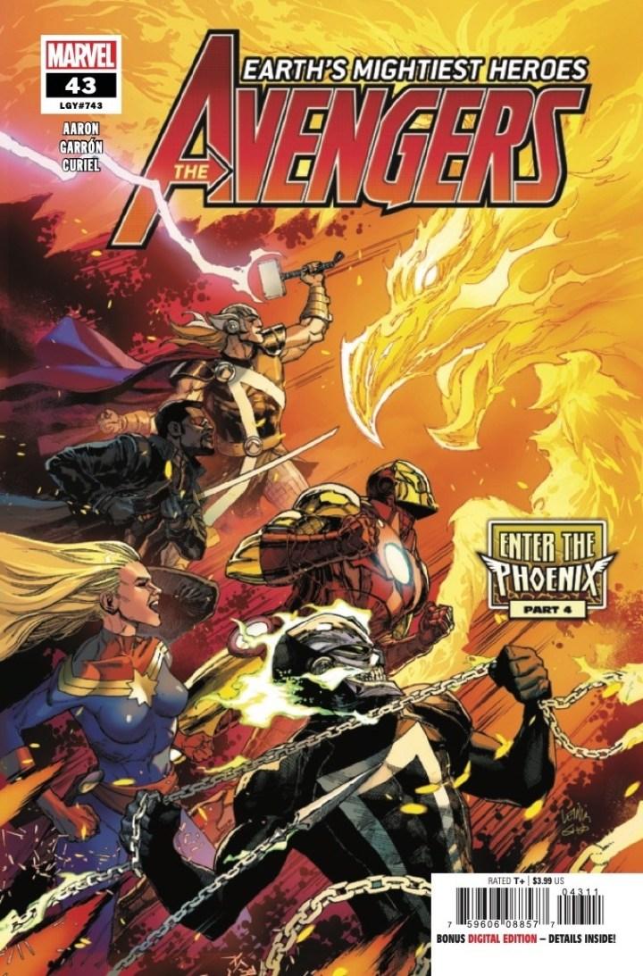 Avengers #43 Cover 1