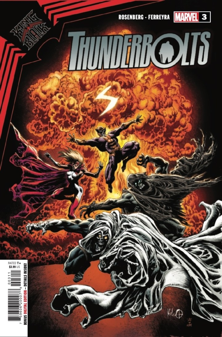 King in Black: Thunderbolts #3 cover 1